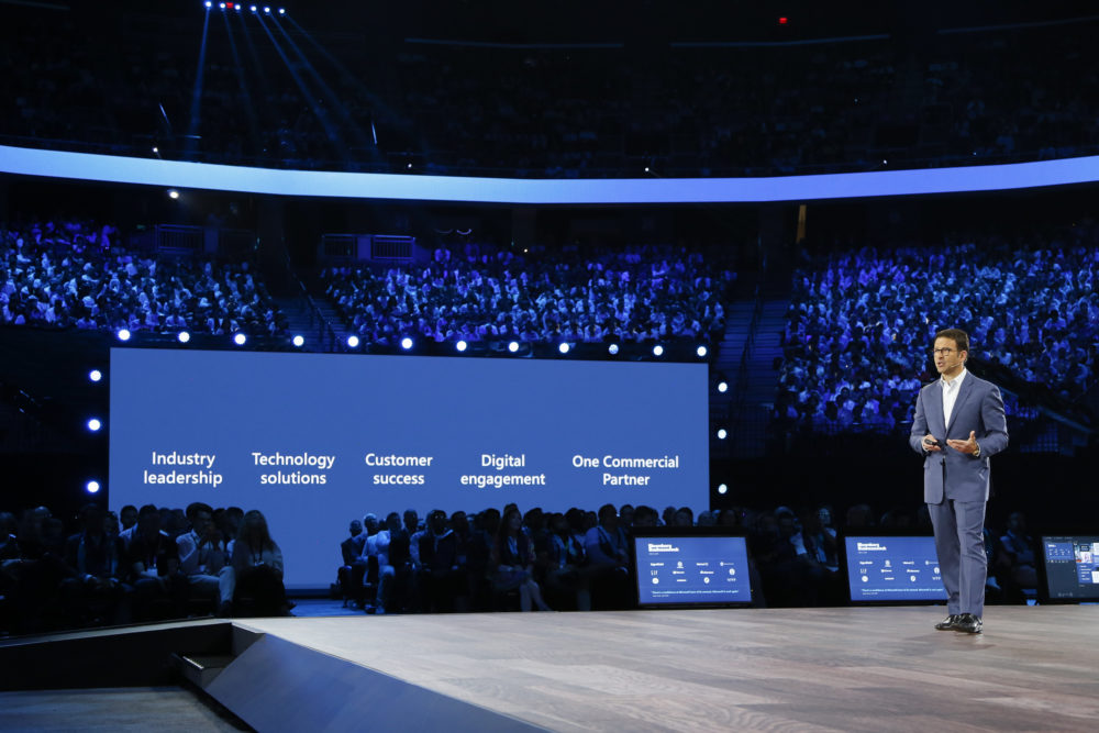 Judson Althoff, Executive Vice President de Worldwide Commercial Business, en Microsoft Inspire 2019